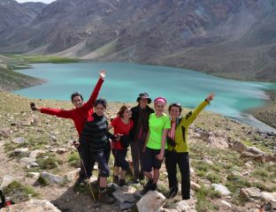 Excursion, Pamir, Trek, Formation, Oykul