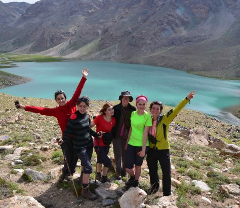 Excursion, Pamir, Trek, Formation, Oykul