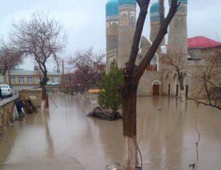 Boukhara Ouzbékistan Inondation Tchor Minor