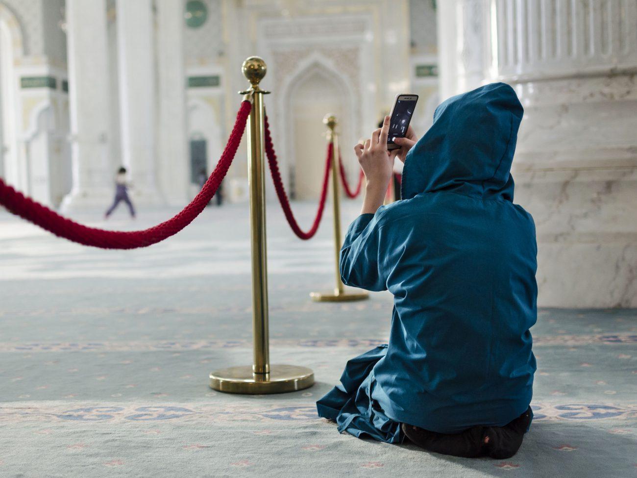 Astana Kazakhstan Mosquée Khazret Sultan iPhone Islam