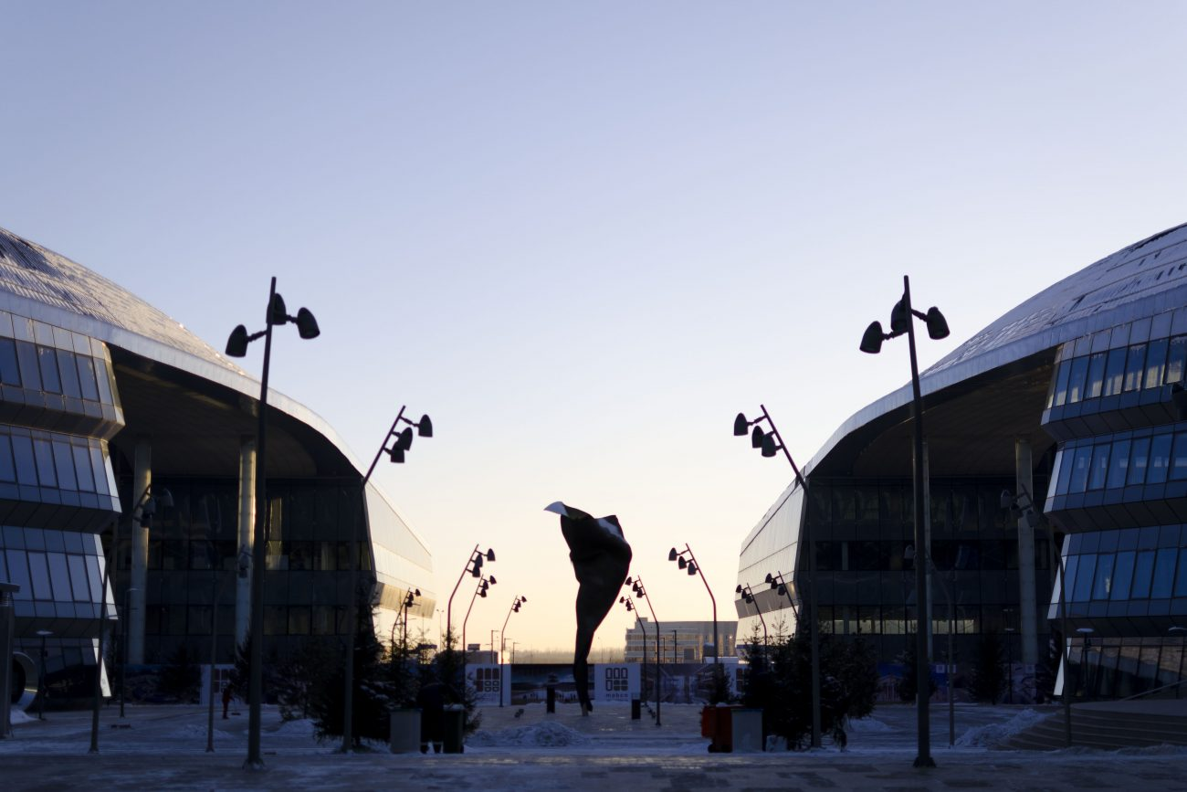 EXPO 2017 Astana Kazakhstan Coucher de soleil