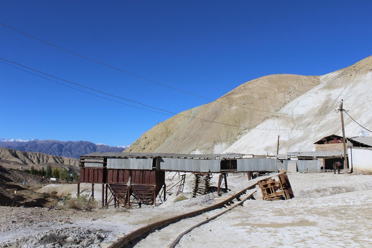 Mine Tchon-Touz Kirghizstan