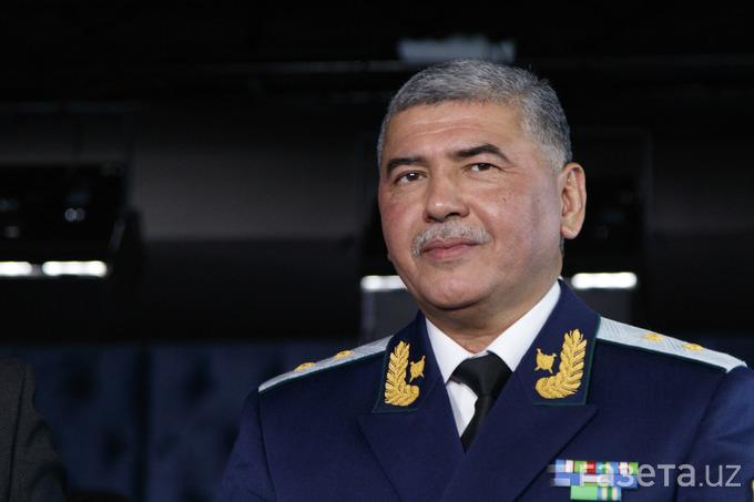 Ikhtiyor Abdoullaïev Chef Services Sécurité Ouzbékistan