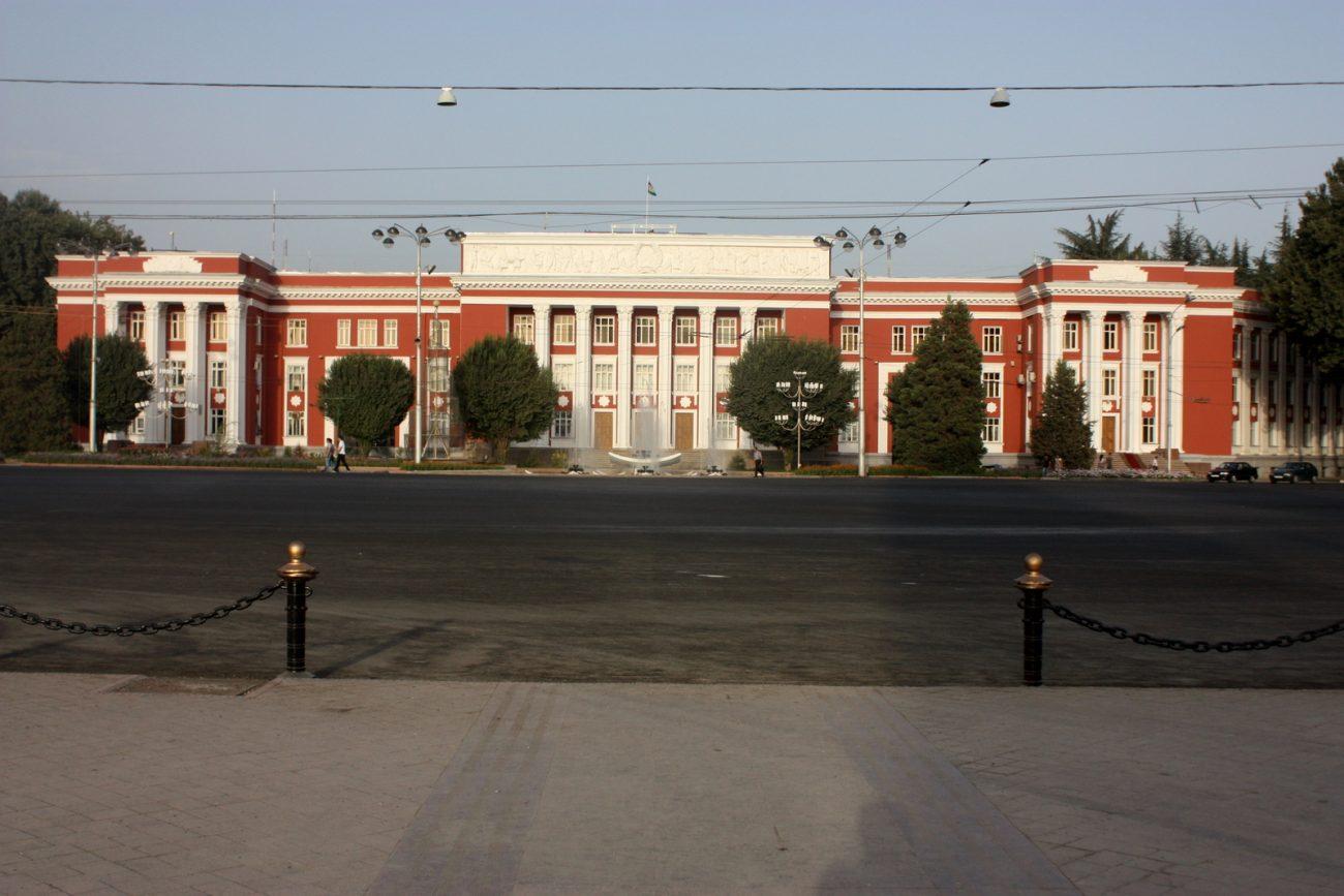 Parlement République Tadjikistan Douchanbé Capitale Pays