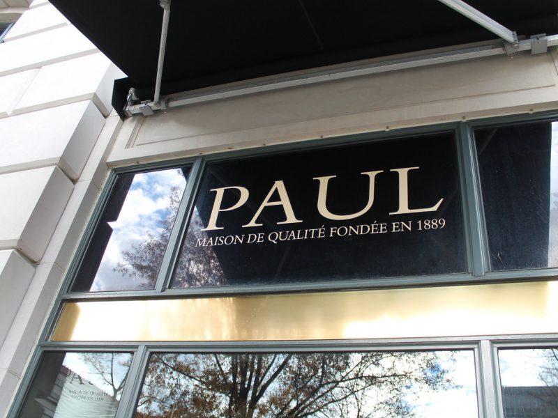 Façade Boulangerie PAUL Franchise