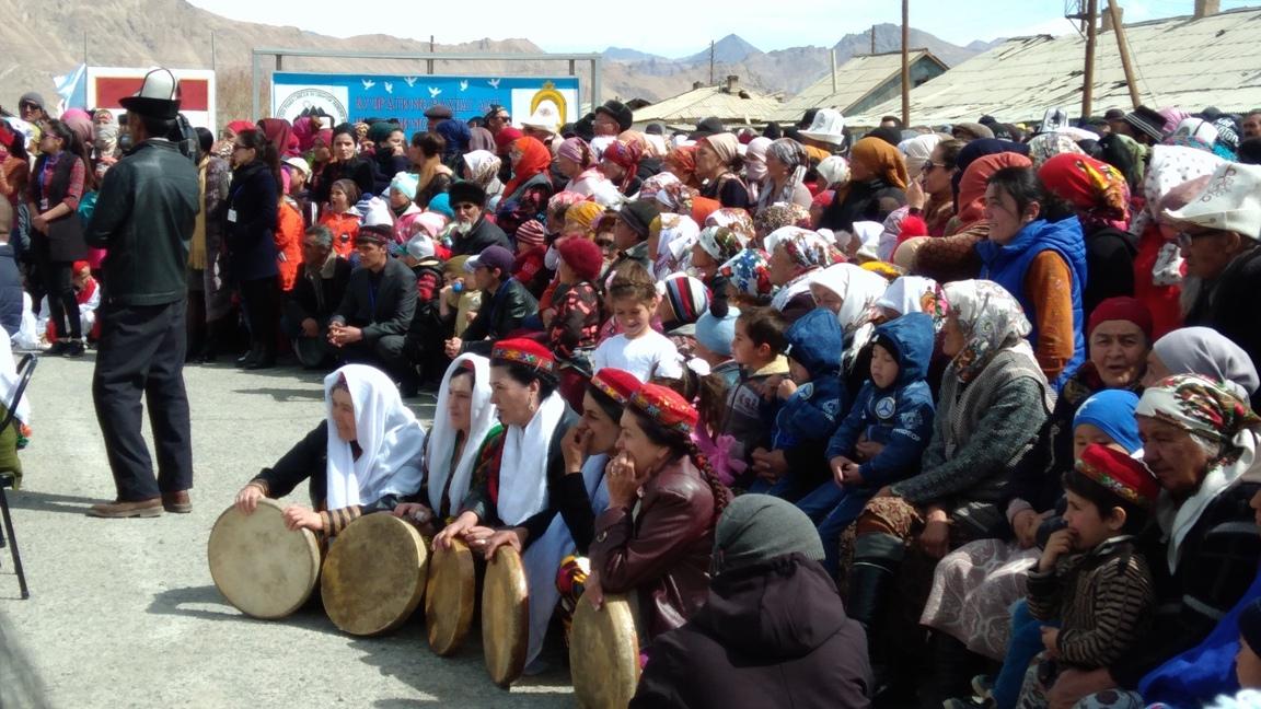 Habitants Norouz Mourghab Tadjikistan
