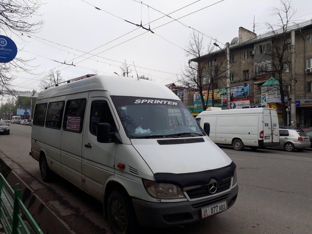 Marchroutka Grève Numéro Ligne Bichkek
