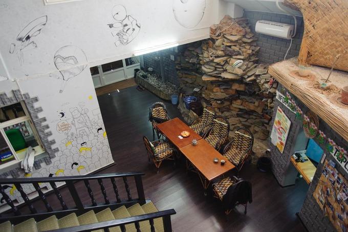Intérieur Topchan Hostel