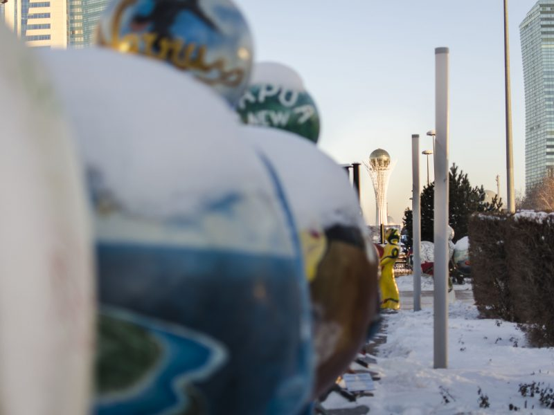 Kazakhstan Bayterek Tour Astana Statue EXPO 2017