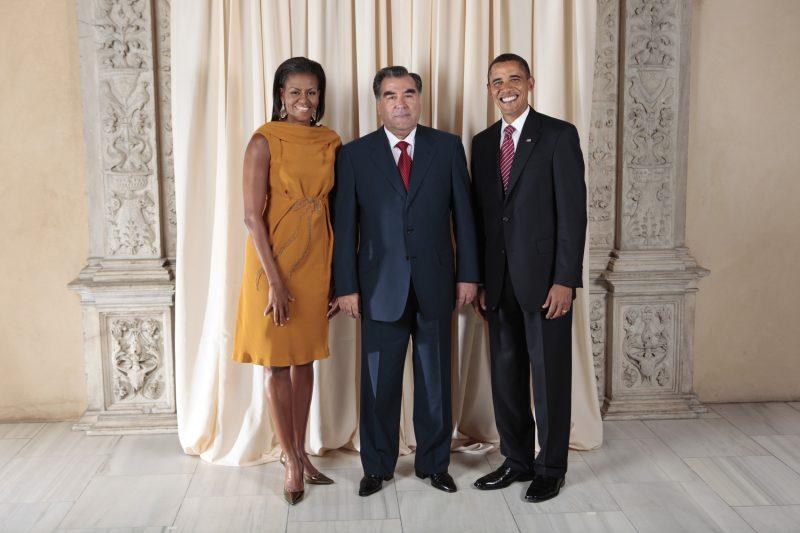 Tadjikistan Obama Président tadjik Emomali Rahmon Politique