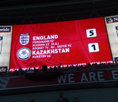 Kazakhstan Football Angleterre Indépendance