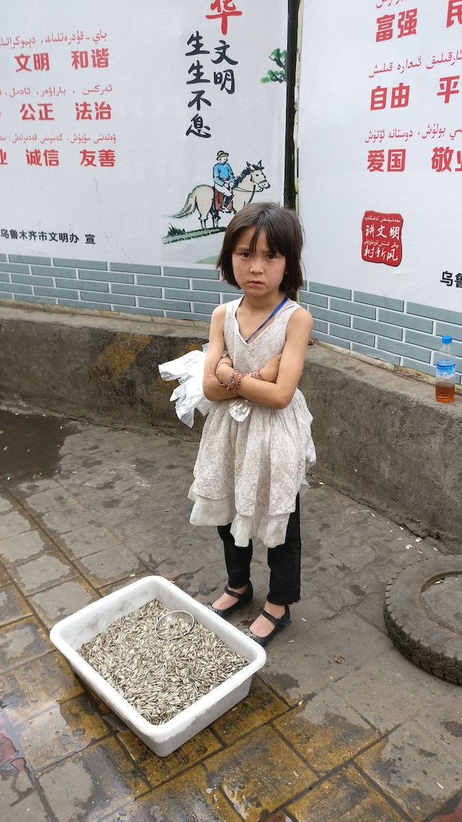 Jeune fille ouïgour