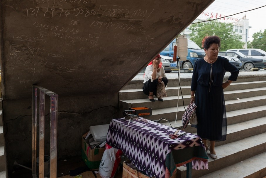 Femme Ouïgoure