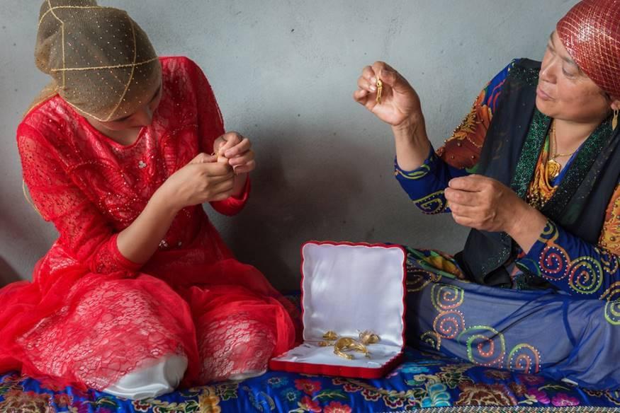 Mariage Ouïgour Xinjiang