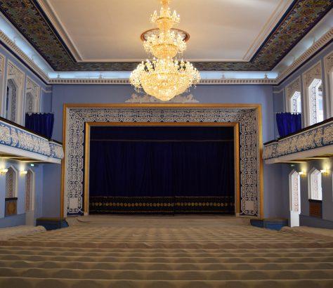 Vue intérieure Palais de la Culture à Arbob