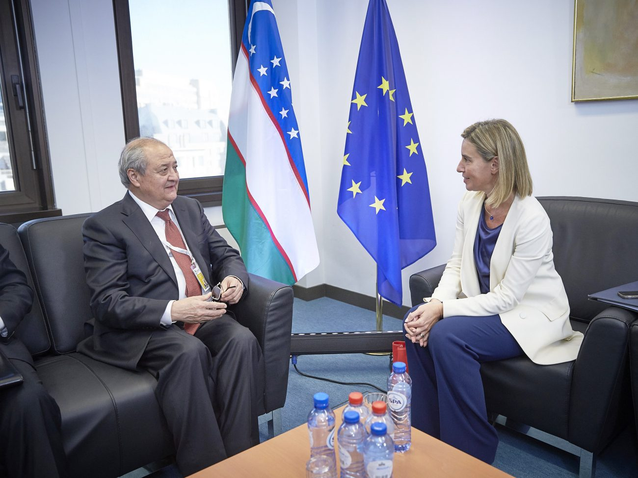Federica Mogherini Abdulaziz Kamilov Union européenne Ouzbékistan Asie centrale