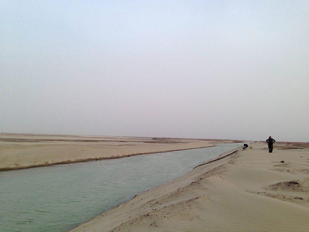 l'Amou-Daria à Noukous en Ouzbékistan