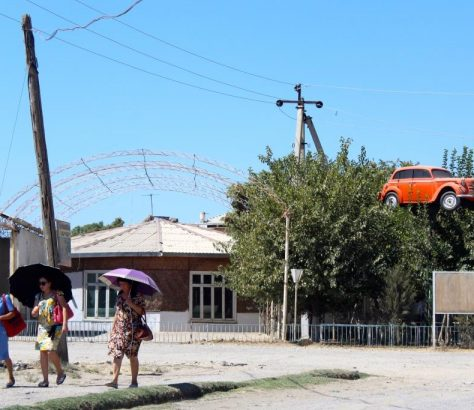 Voiture Farige Ouzbékistan