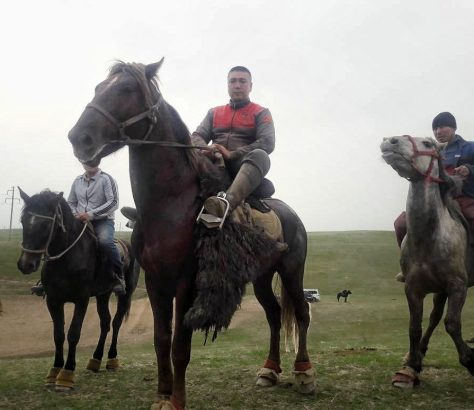 Kök-Börü Sport équestre Kirghizstan Cheval Nourbek Akmatov