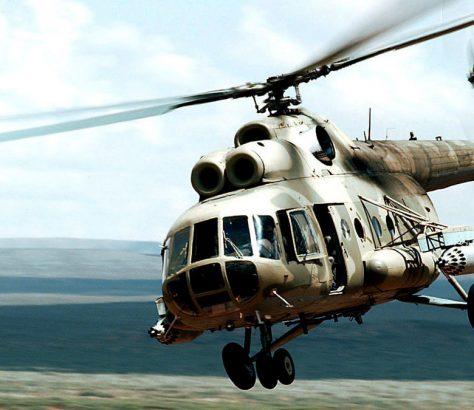 Un hélicoptère MI-8 comme celui que possède le Kirghizstan