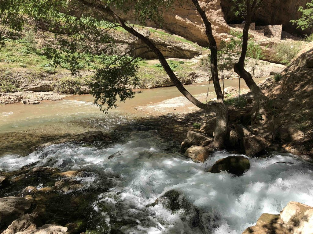 Une prise d'eau dans la région de Soukhandarya en Ouzbékistan