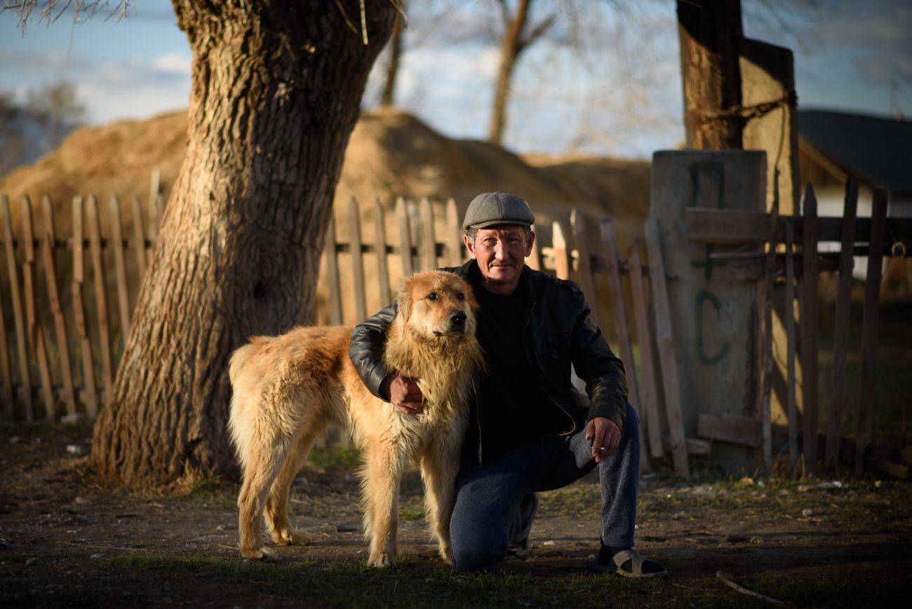Kyzyl-Tuu Issyk Koul portrait chien