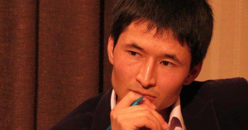 Photo du profil Facebook du journaliste kirghiz Ulanbek Egizbaev