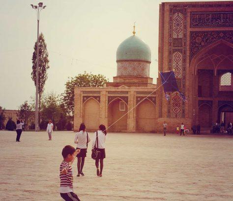 Tachkent Hazrate Imam cerf-volant