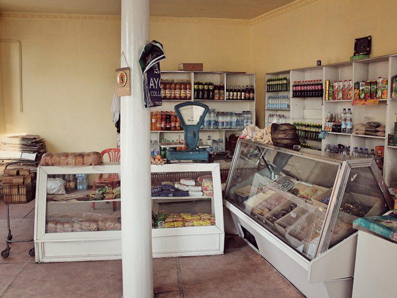 Ouzbékistan supermarché Samarcande