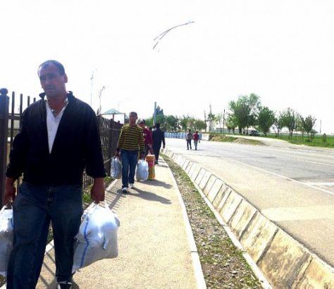 Ouzbeks Tadjiks Produits Frontière Pays