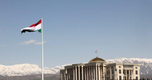Vue Palis Douchanbé Tadjikistan