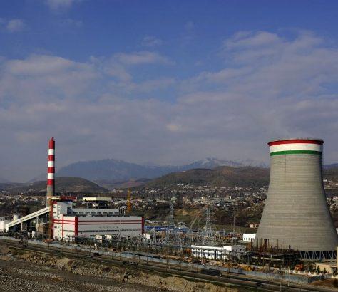 CT2 Centrale Thermique Douchanbé Tadjikistan Charbon Environnement Energie