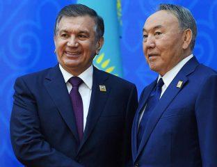 Président Chavkat Mirzioïev Noursoultan Nazarbaïev
