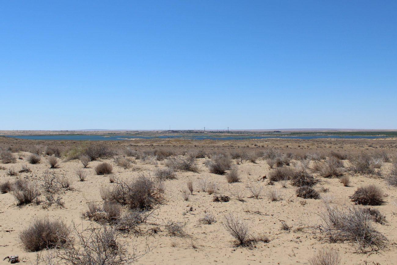 Désert Karakoum Ouzbékistan Turkménistan