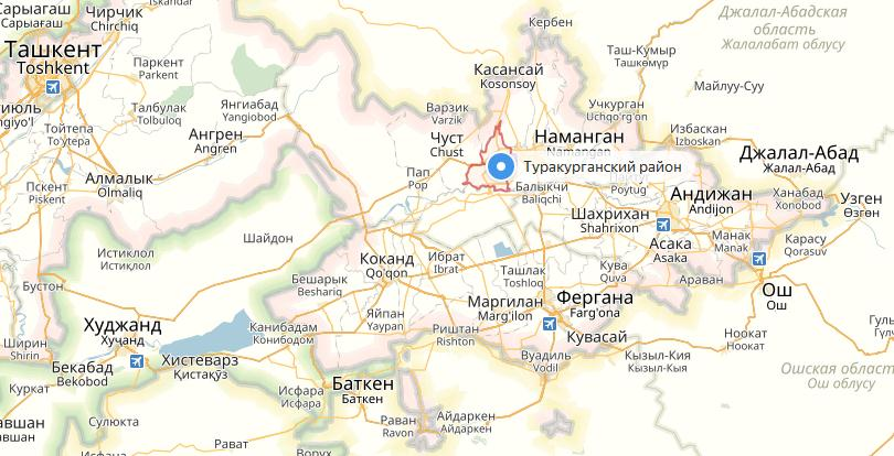 La province de Namangan