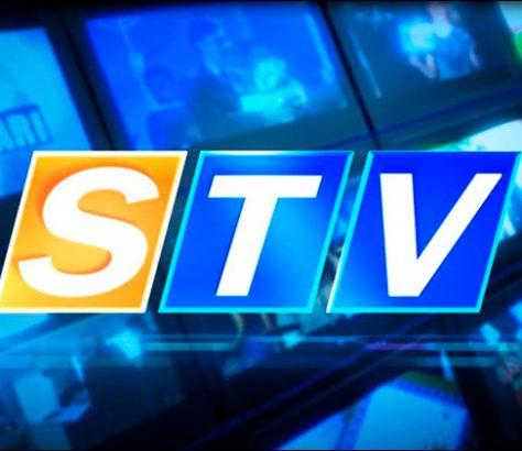 Logo de la chaîne de télévision STV basé à Samarcande en Ouzbékistan et qui a été coupée par les autorités