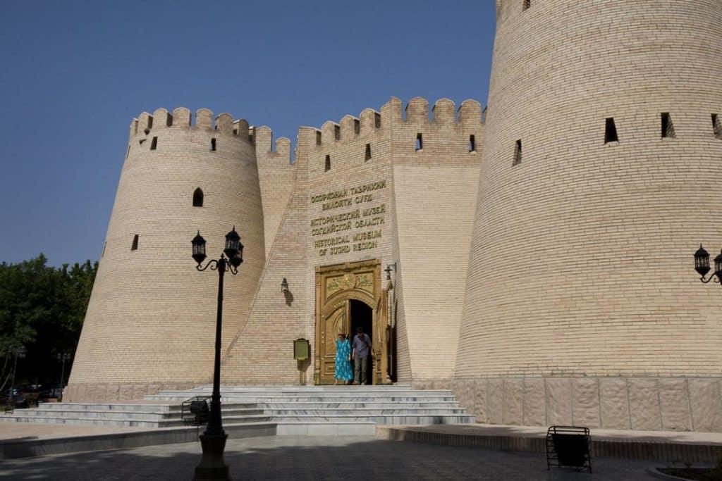 Tadjkistan forteresse Khodjen