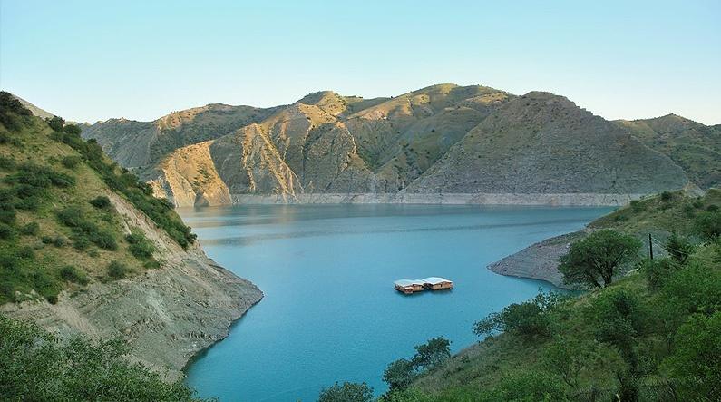 Tadjikistan Nourek Réserve d'eau