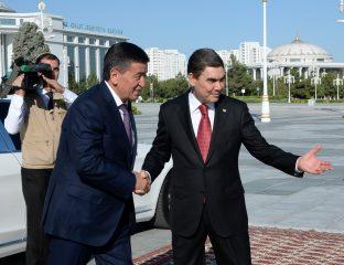 Visite Jeenbekov Berdimhamedov