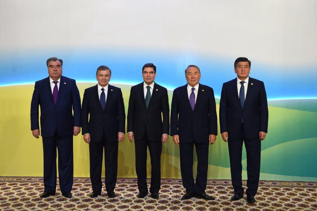 Les cinq Présidents des pays d'Asie centrale réunis sans une autre puissance étrangère présente : un moment rare
