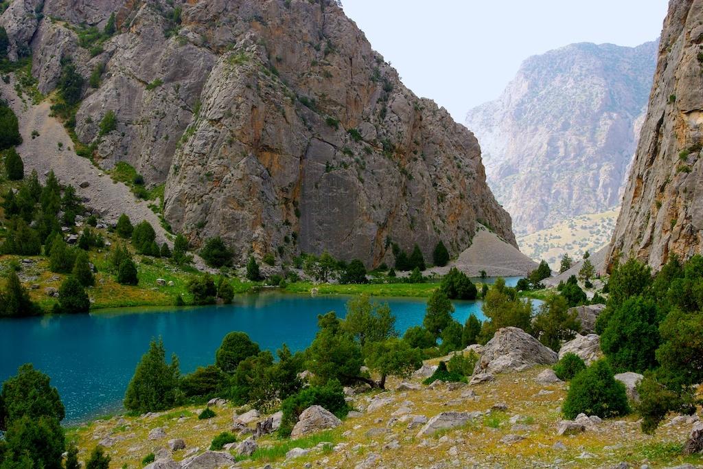 Montagnes Fan au Tadjikistan