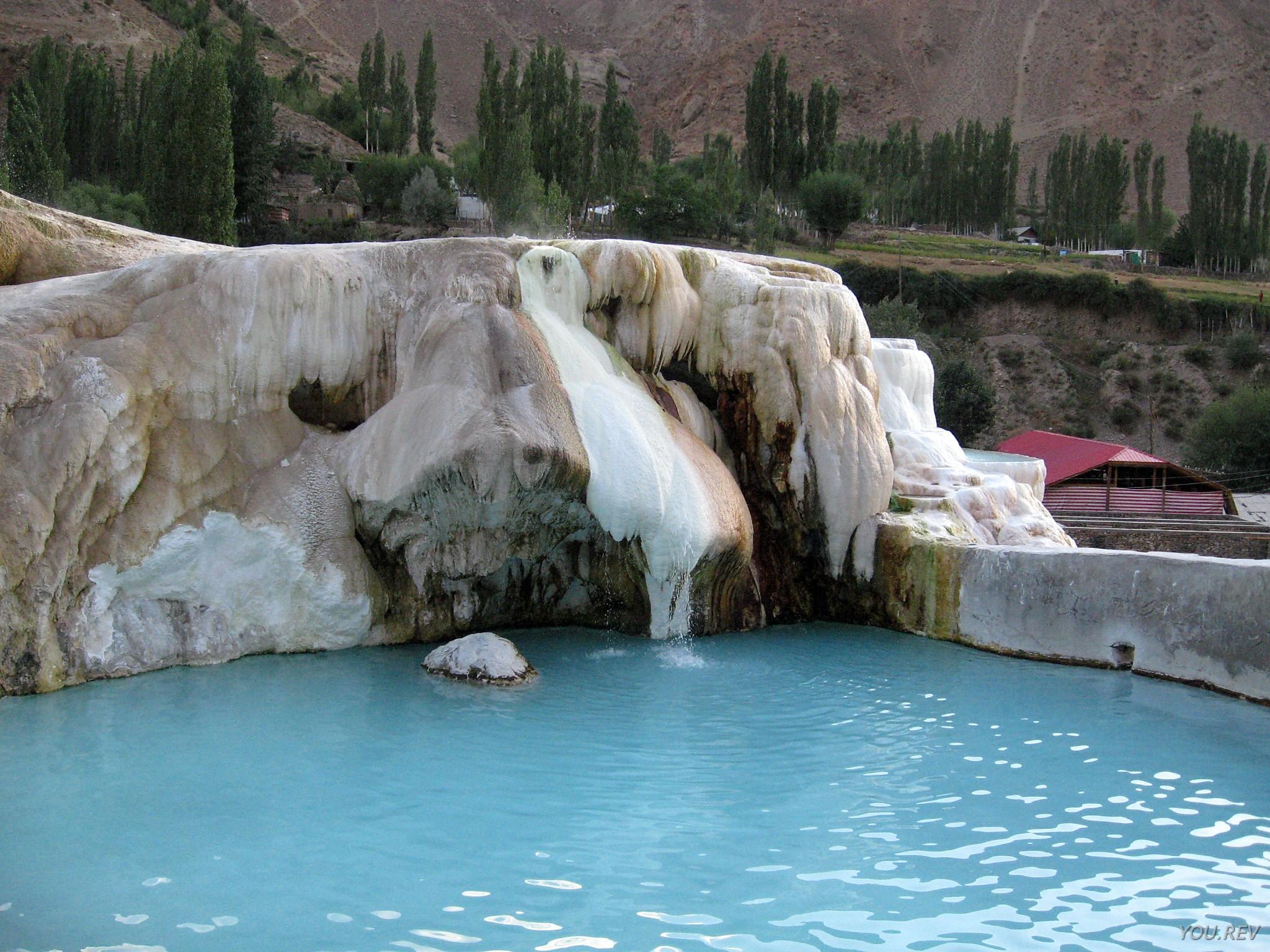 Tadjikistan Garm Chachma eau gelée
