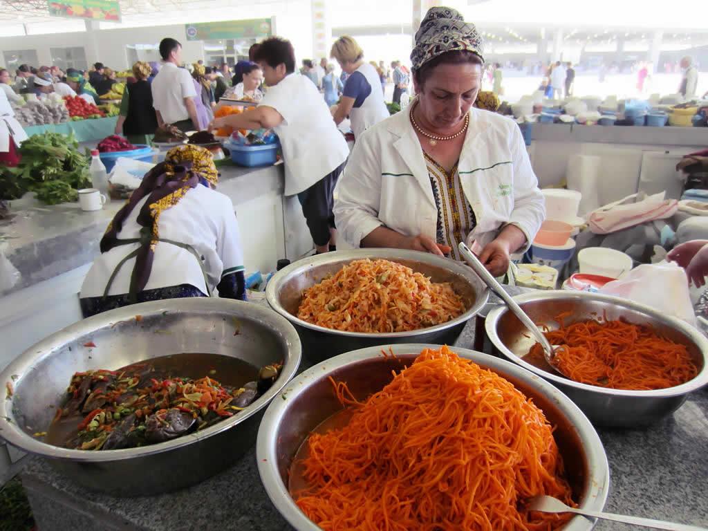 Turkmenistan Achgabat Bazar
