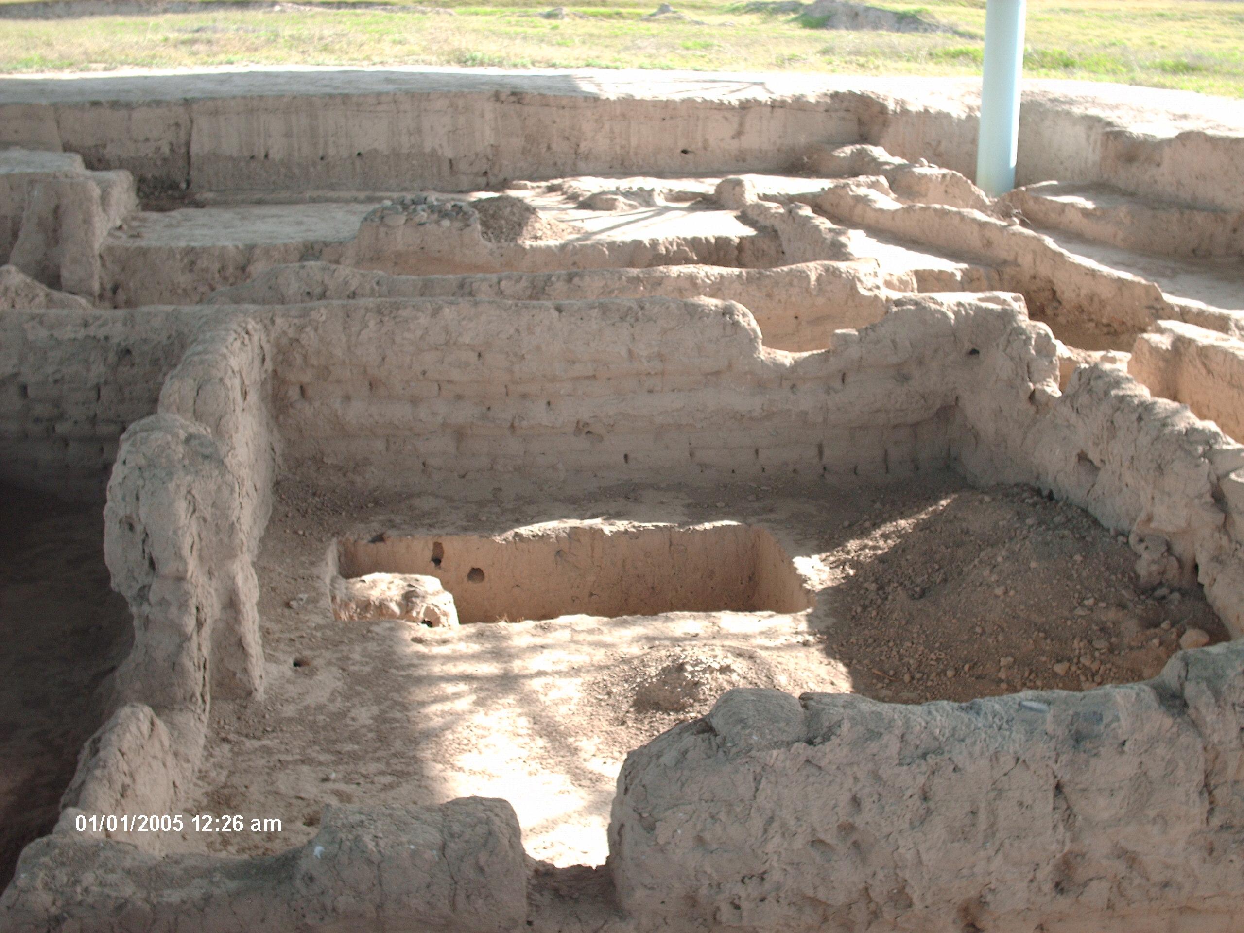 Tadjikistan ruines Sarazm