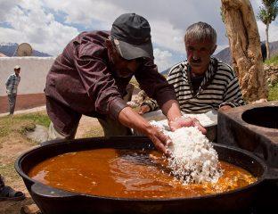 Pamir Tadjikistan Pauvreté Village