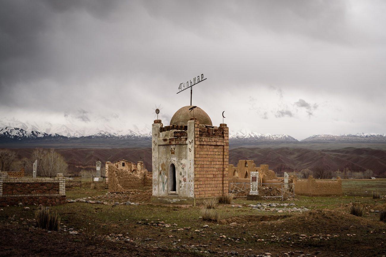 cimetière Kirghizstan