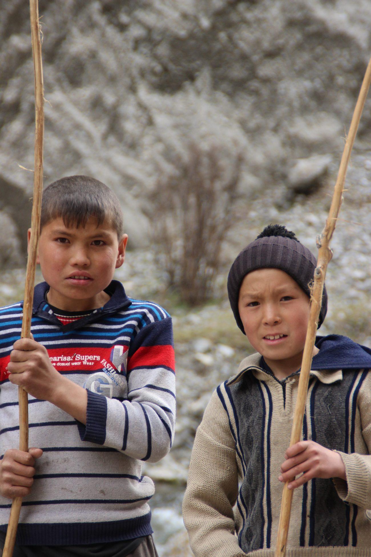 Pêcheurs Portrait Kirghizstan