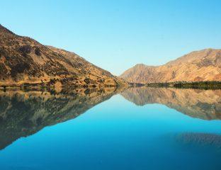 Rivière Pyandj Tadjikistan