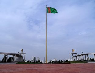 Drapeau Turkménistan Ombudsman Droits de l'Homme Yazdoursoun Gourbannazarova Yazdoursoun Gourbannazarova