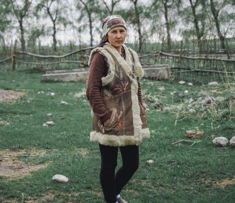 fermiere kirghize Grigorievka
